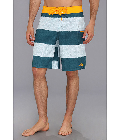 The North Face - Olas Boardshort (Storm Blue Stripe) Men