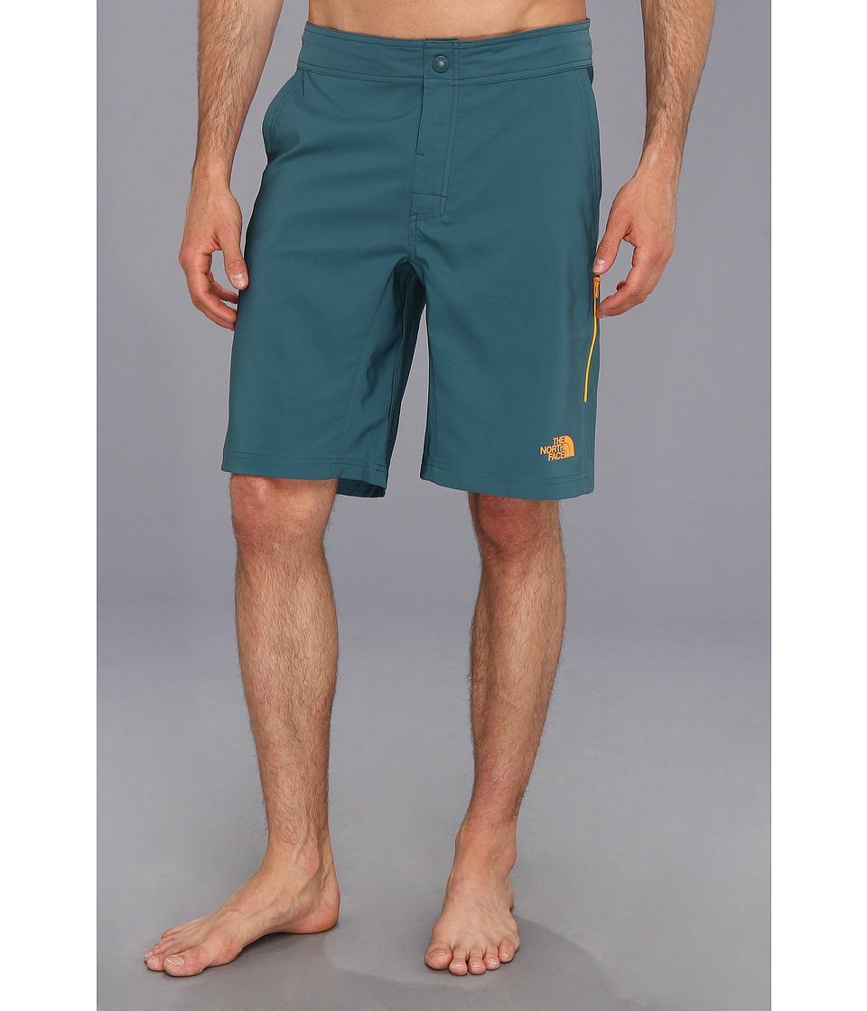 The North Face - Pacific Creek Boardshort (Balsam Blue) Men's Swimwear