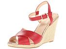 Cole Haan - Hart Wedge (Tango Red) - Footwear