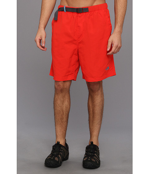 The North Face - Class V Belted Trunk (Fiery Red) Men's Shorts