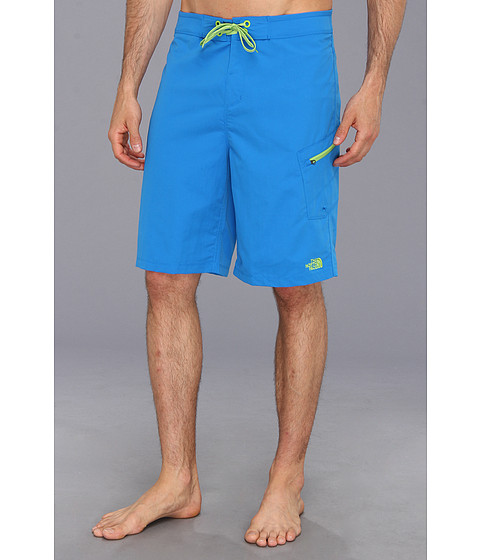 The North Face - Class V Boardshort (Drummer Blue/Tree Frog Green) Men's Swimwear