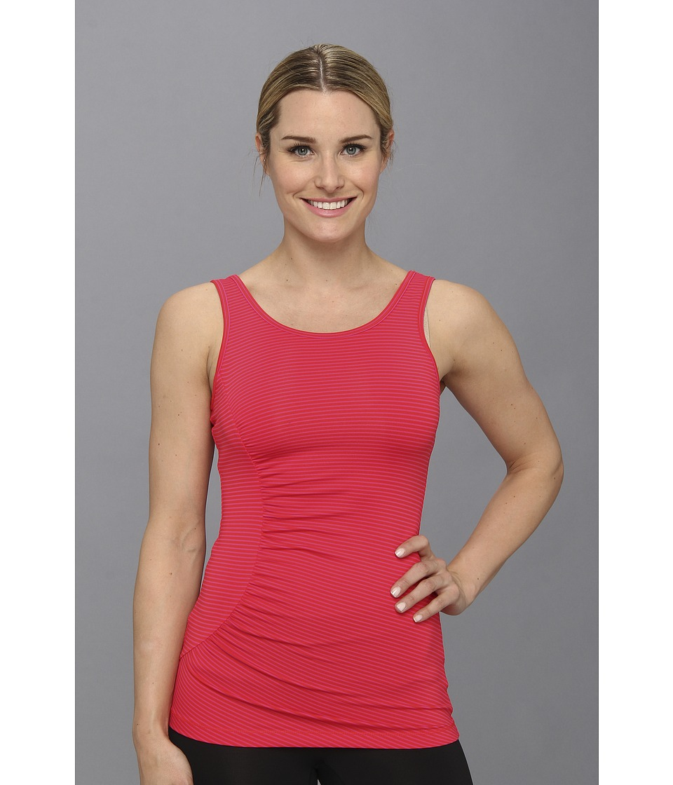 Lole - Twist Tank (Pomegranate Stripe) Women's Sleeveless