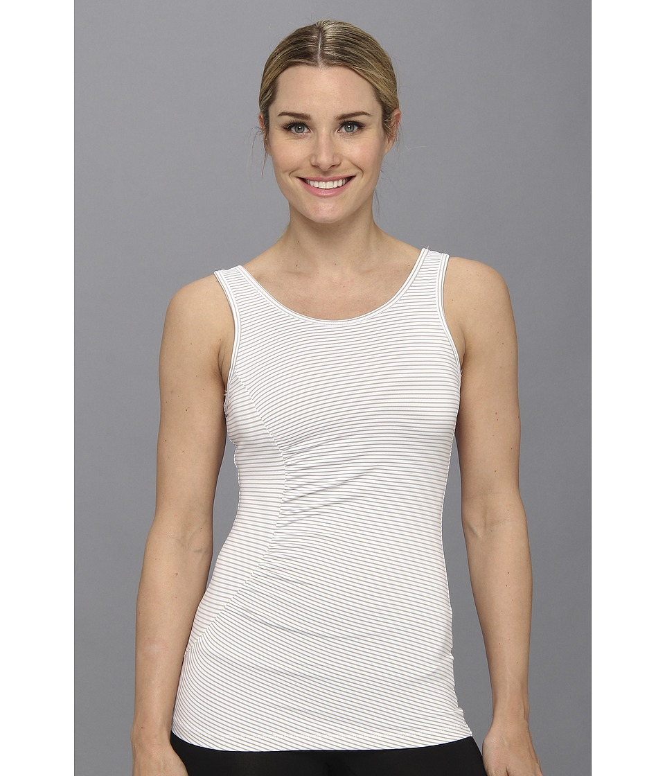 Lole - Twist Tank (White Stripe) Women's Sleeveless