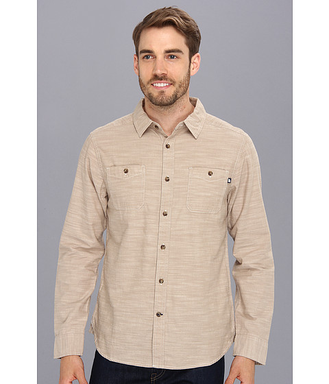 The North Face - L/S Crester Shirt (Dune Beige) Men