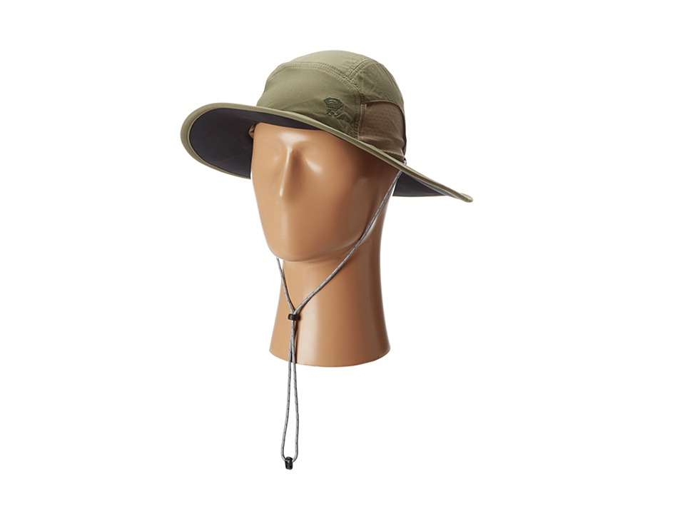 Mountain Hardwear - Chiller Wide Brim Hat II (Stone Green) Safari Hats