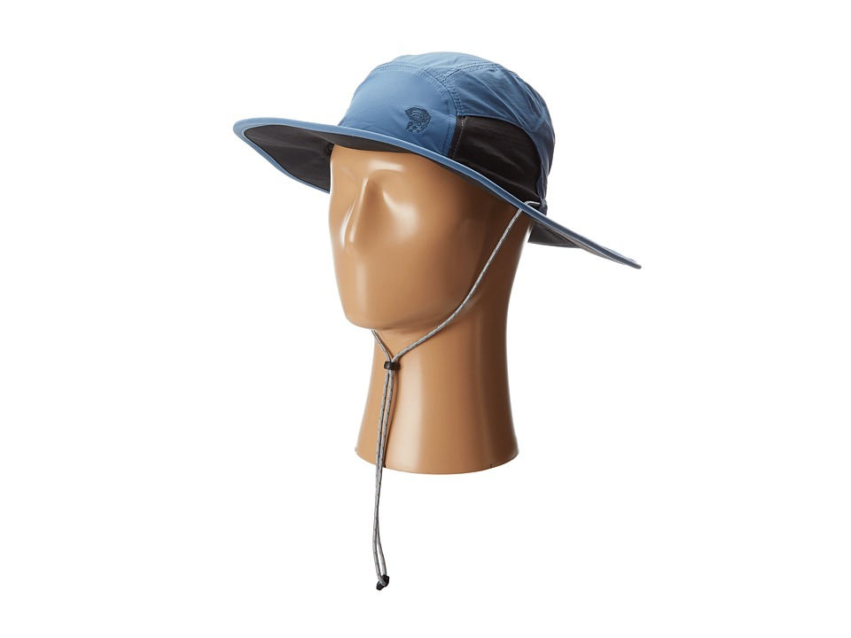 Mountain Hardwear - Chiller Wide Brim Hat II (Steel/Stealth Gray/Stealth Gray) Safari Hats