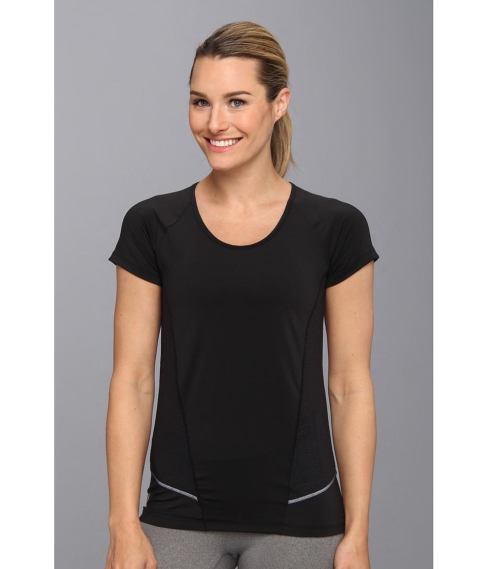 Lole - Marathon Top (Black) Women's Short Sleeve Pullover