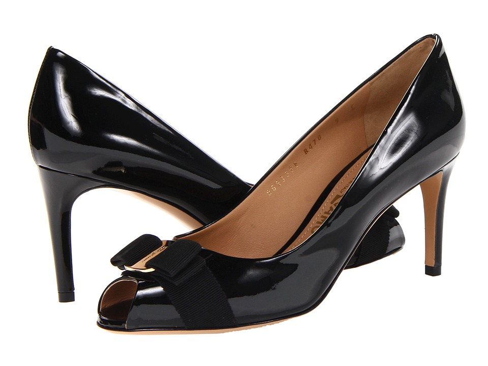 Salvatore Ferragamo - Pola (Nero) High Heels
