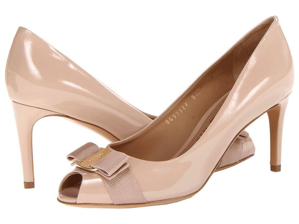 Salvatore Ferragamo - Pola (New Bisque) High Heels
