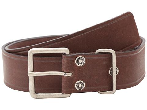 Calvin Klein - 40mm Flat Strap w/ Loop Buckle (Brown) Men