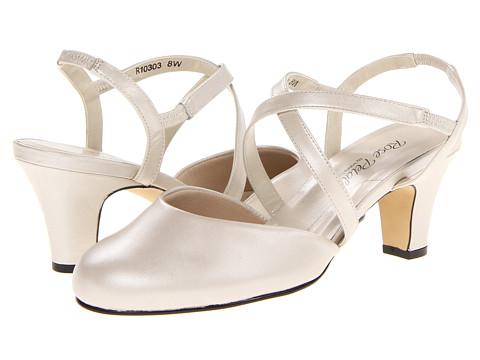 Rose Petals - Caliente (Silver Press Kid) Women's Shoes