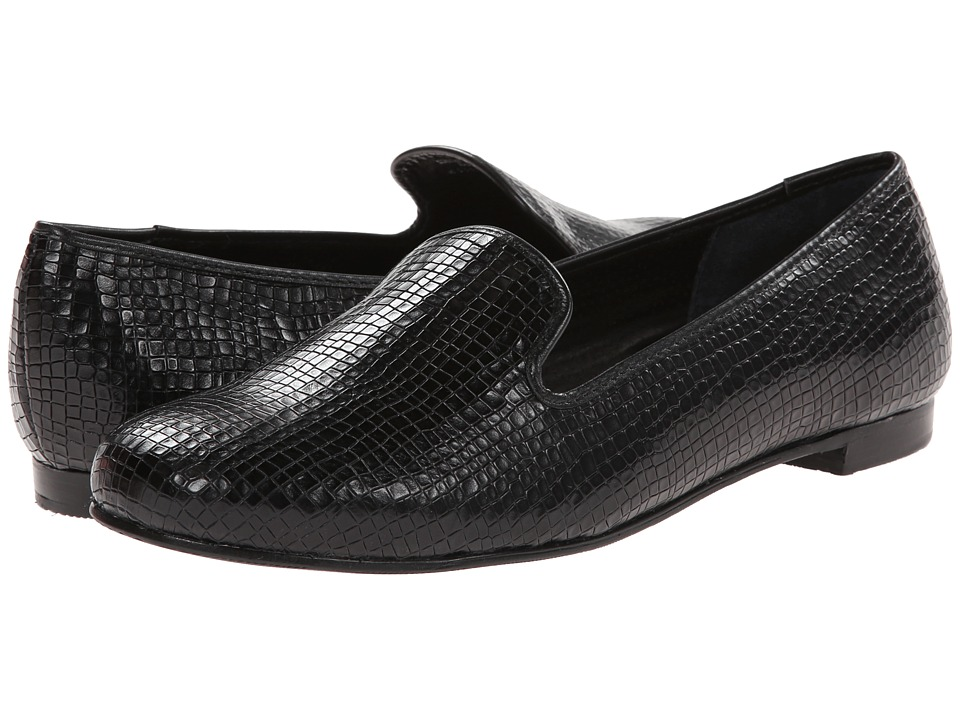 Rose Petals - Foster (Black Antique Baby Croc) Women