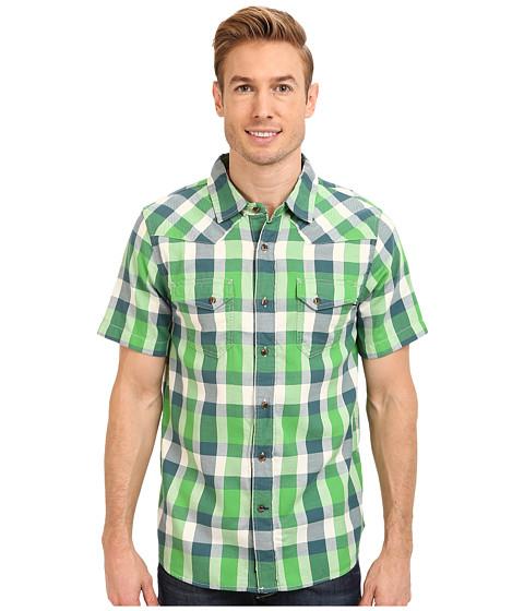 The North Face - S/S Gardello Shirt (Flashlight Green) Men