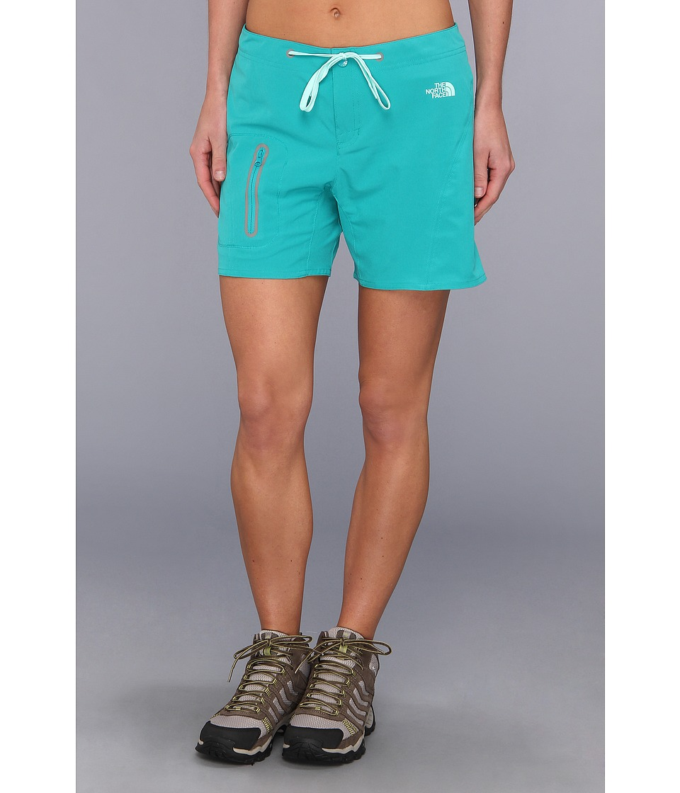 The North Face - Echo Lake Apex Washoe Short (Jaiden Green/Beach Glass Green) Women's Shorts