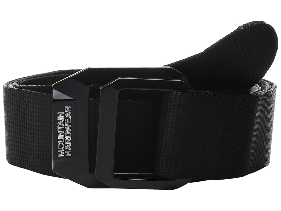 Mountain Hardwear - Double Back Belt (Black) Belts
