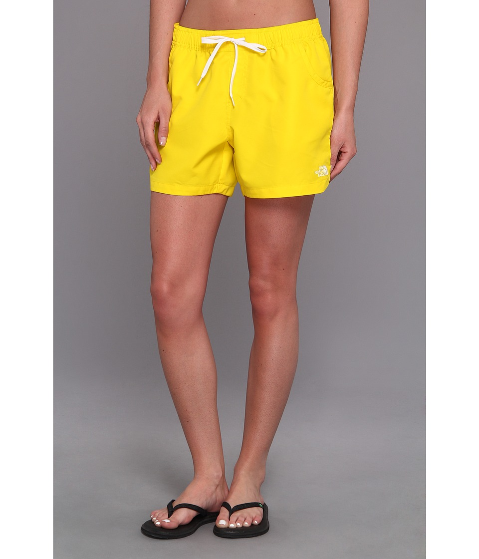 The North Face - Class V Water Short (Lightning Yellow/TNF White) Women