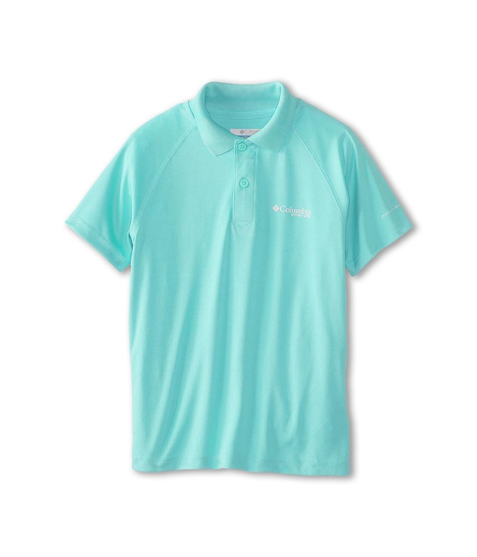 Columbia Kids - Terminal Tackletm Polo Shirt (Little Kids/Big Kids) (Gulf Stream) Boy's Short Sleeve Pullover