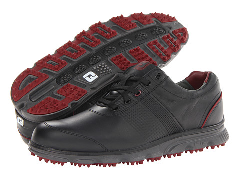 FootJoy - DryJoys Tour Casual (Black) Men's Golf Shoes