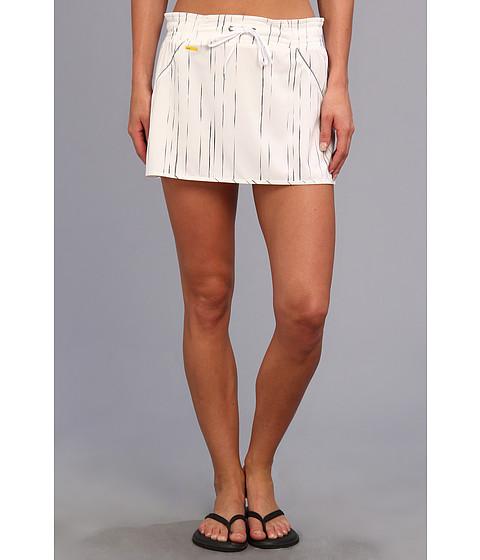 Lole - Speed Skirt LSW1021 (White Broken Stripe) Women