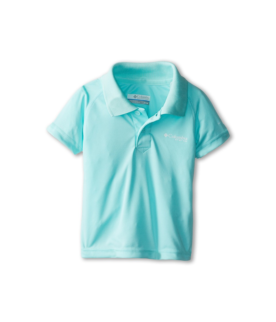 Columbia Kids - Terminal Tackle (Toddler) (Gulf Stream) Boy's Short Sleeve Pullover