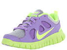 Nike Kids Free Run 5.0 (Little Kid) (Wolf Grey/Volt Ice/Violet) Girls Shoes