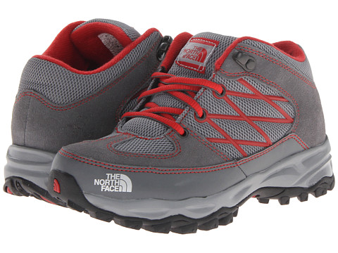 The North Face Kids - Storm (Toddler/Little Kid/Big Kid) (Monument Grey/TNF Red) Boys Shoes