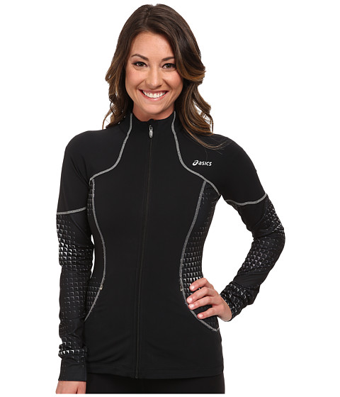 ASICS - Lite-Show Jacket (Black) Women's Jacket