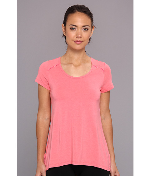 Lole - Mukha 2 Top (Pink Coral) Women's Short Sleeve Pullover