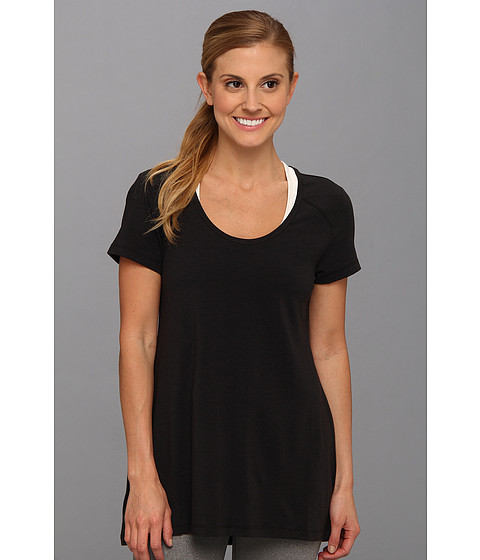 Lole - Mukha 2 Top (Black) Women's Short Sleeve Pullover
