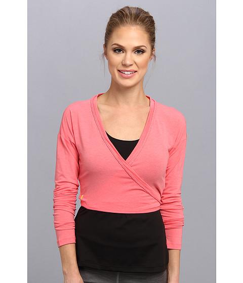 Lole - Sukha Cardigan (Pink Coral) Women's Sweater