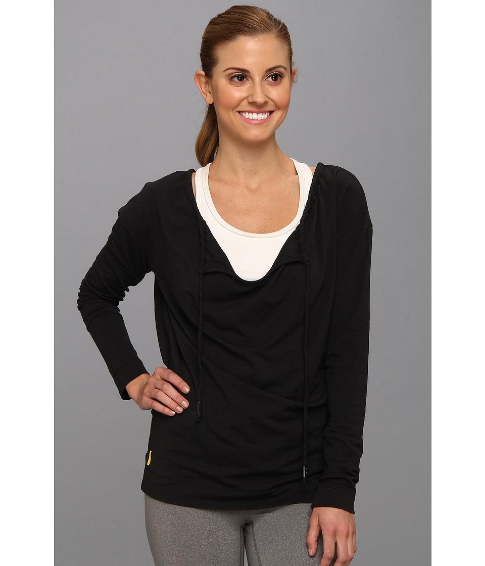 Lole - Tulasana Top (Black) Women's Long Sleeve Pullover