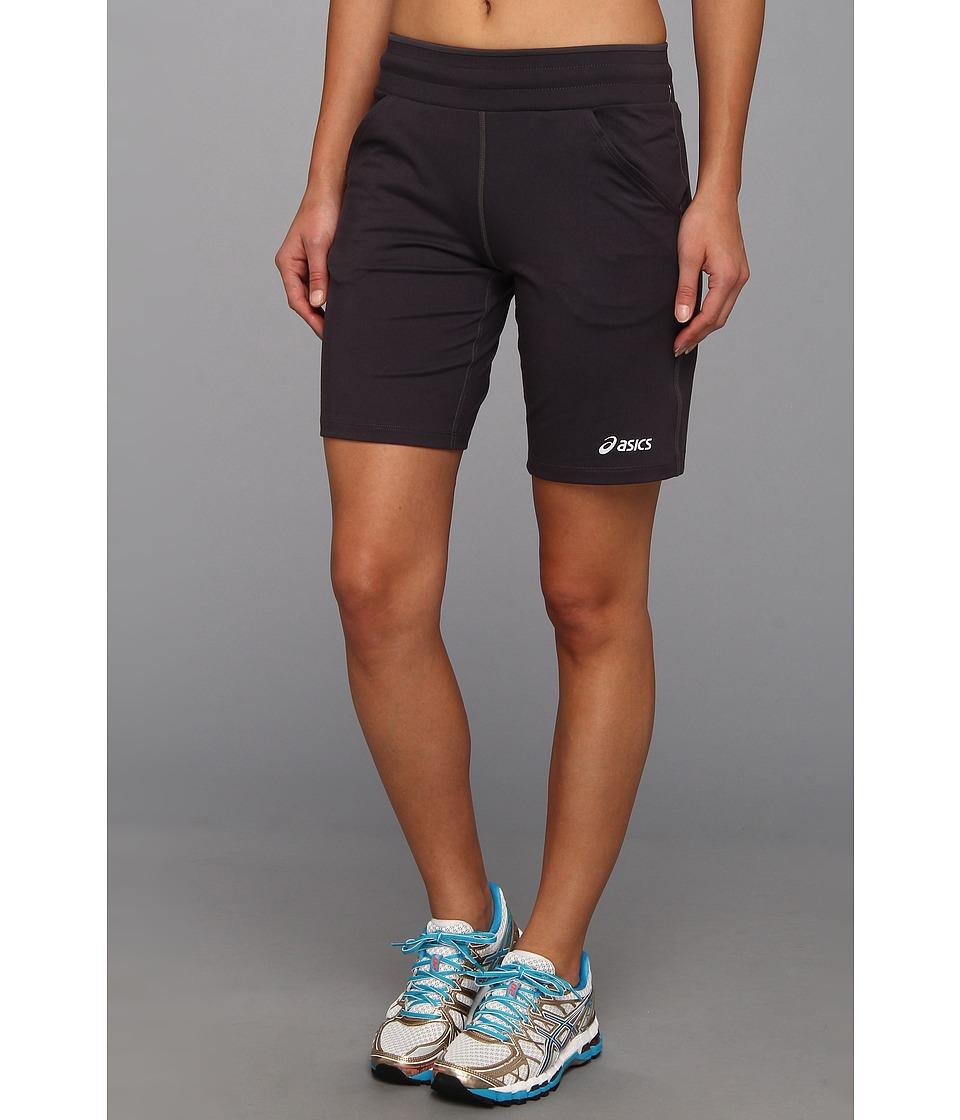 ASICS - ASICS Long Short 9 (Steel/Stealth Gray/Stealth Gray) Women's Shorts