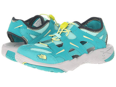 The North Face Kids - Hedgefrog (Toddler/Little Kid/Big Kid) (Jaiden Green/Exotic Green) Girls Shoes