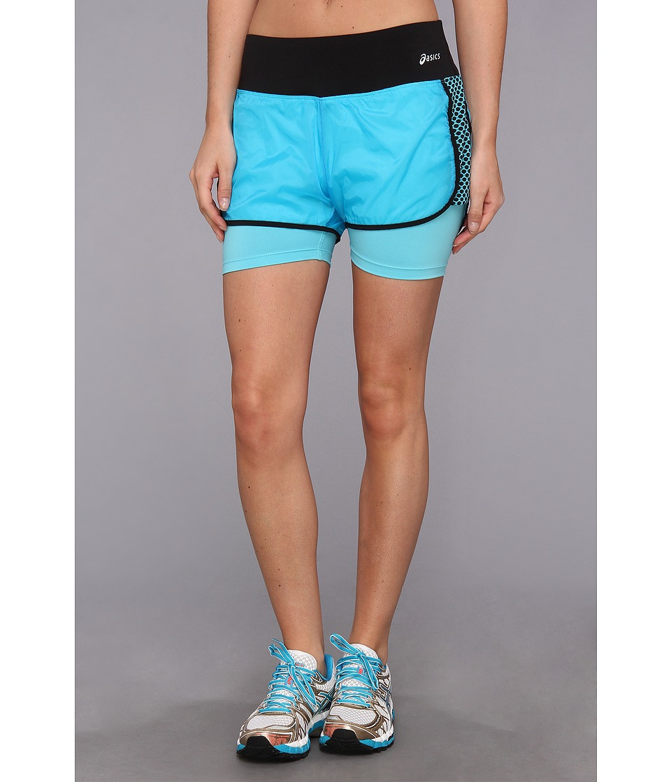 ASICS - Performance Funtm Short (Bluebird) Women's Shorts
