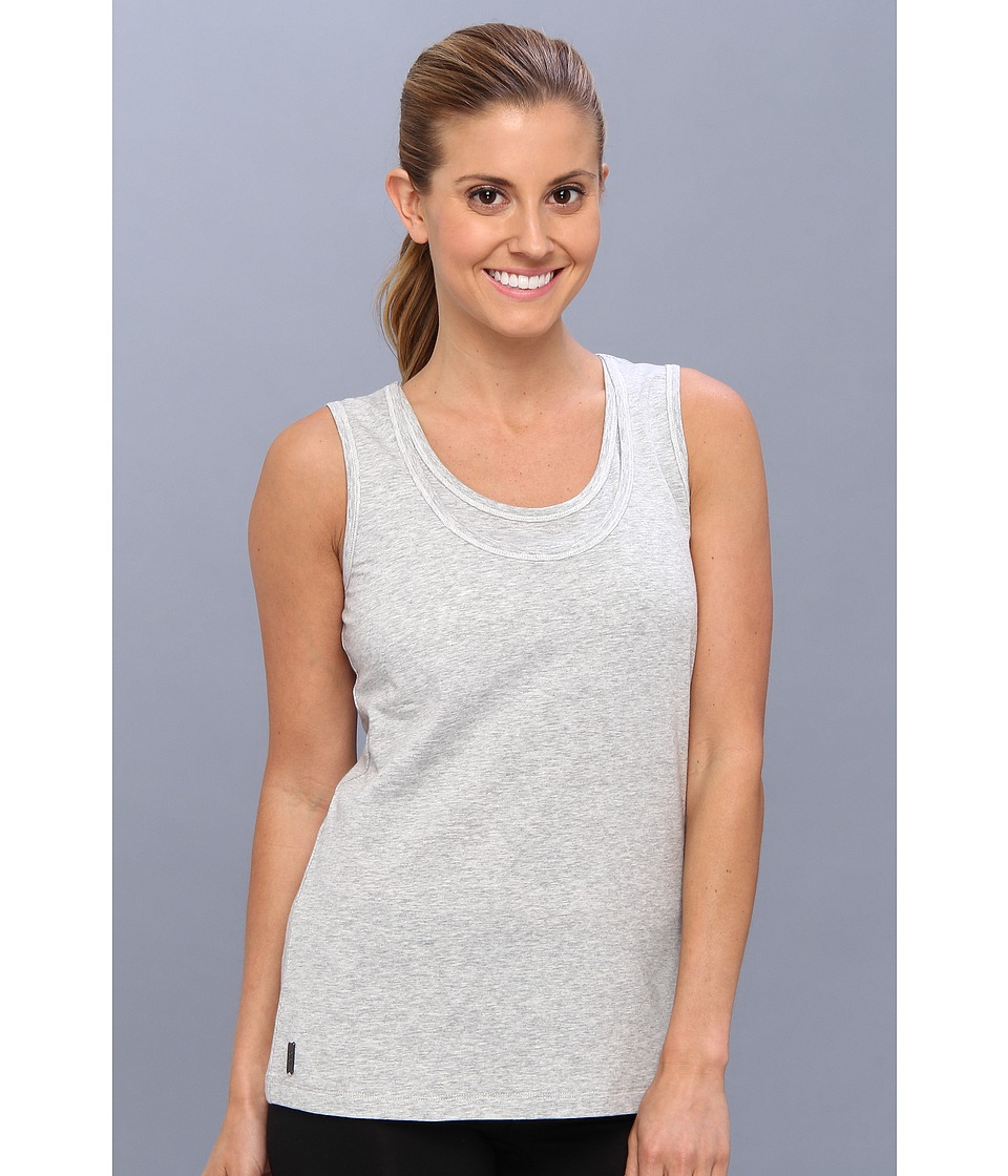Lole - Hug Top (Warm Grey Heather) Women's Sleeveless