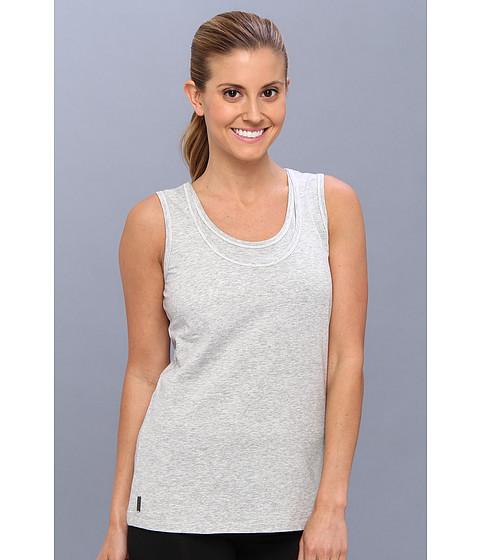 Lole - Hug Top (Warm Grey Heather) Women's Sleeveless