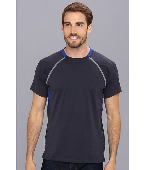 The North Face - Kilowatt S/S Tee (Cosmic Blue/Honor Blue) Men