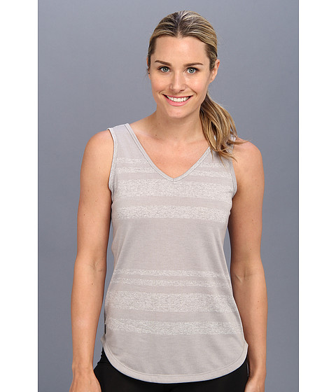 Lole - Dune Tank Top (Warm Grey Linen Stripe) Women