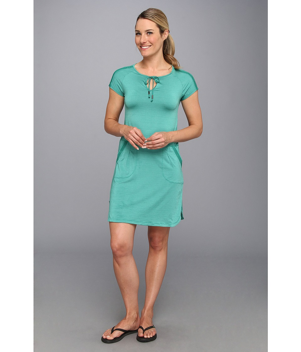 Lole Energic Dress (Glade Green Dip Dye Stripe) Women