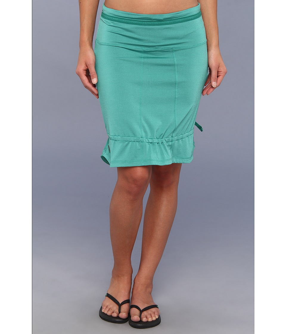 Lole - Touring 2 Skirt (Glade Green Blue Dip Dye Stripe) Women's Skirt