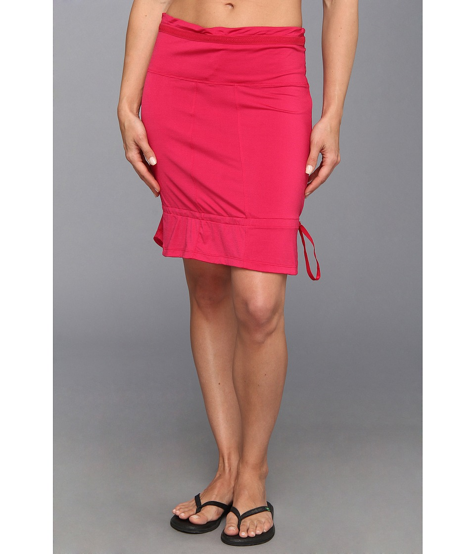 Lole - Touring 2 Skirt (Red Sea Dip Dye Stripe) Women's Skirt