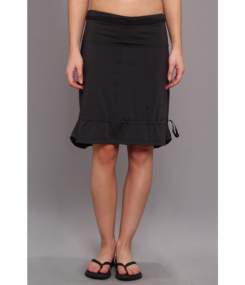 Lole - Touring 2 Skirt (Black Dip Dye Stripe) Women's Skirt