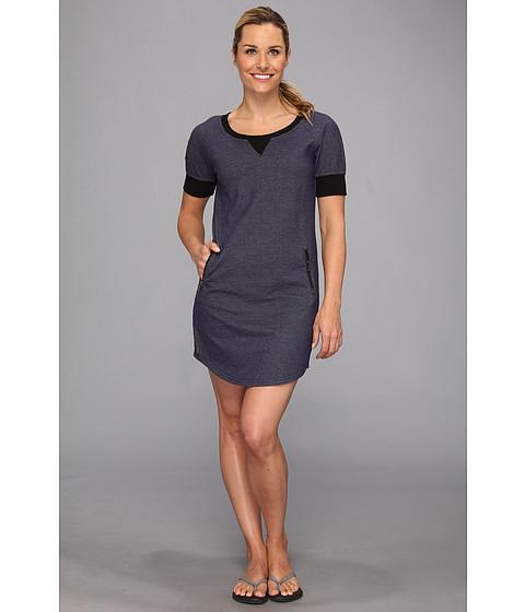 Lole - Calm Tunic Dress (Denim Blue) Women's Dress
