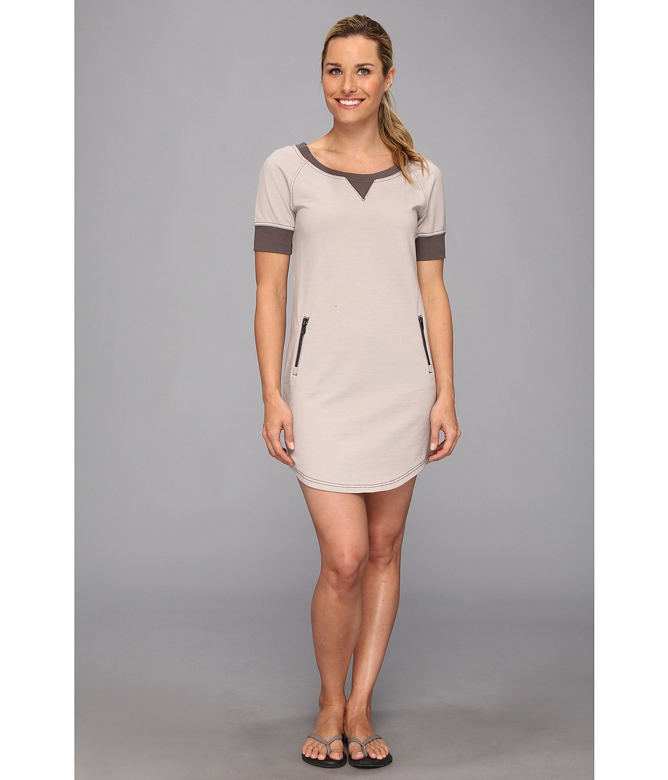 Lole - Calm Tunic Dress (Denim Warm Grey) Women's Dress