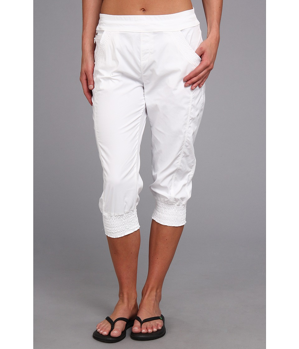 Lole - Haven Capri (White) Women's Capri