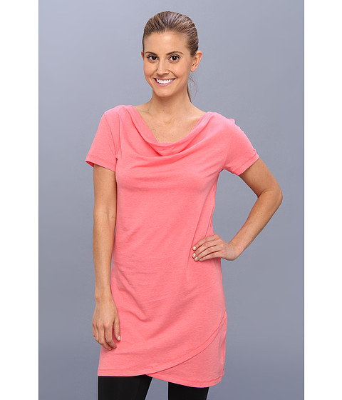 Lole - Syrah 2 Tunic (Pink Coral) Women's Short Sleeve Pullover