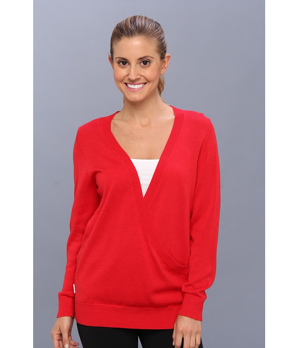 Lole - Swing Sweater (Pomegranate) Women's Sweater