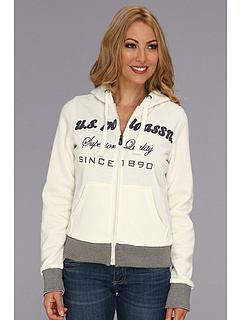 SALE! $33.2 - Save $35 on U.S. Polo Assn Logo Chest Hoodie (Oat) Apparel - 51.18% OFF $68.00