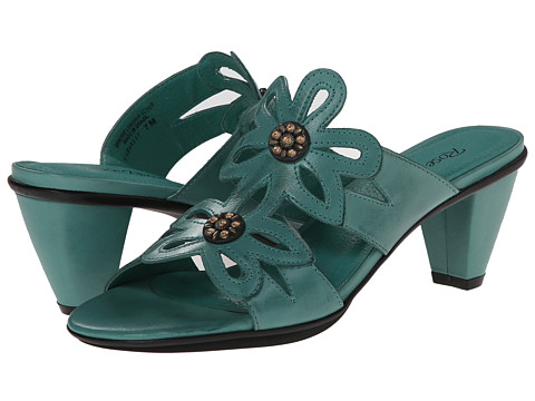 Rose Petals - Suri (Turquoise Cashmere) Women's Shoes