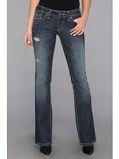 SALE! $41.99 - Save $93 on Affliction Jade Over V Stone Bootcut in Penelope (Penelope) Apparel - 68.90% OFF $135.00